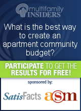 Survey 2014: What is the best way to create an apartment community budget?