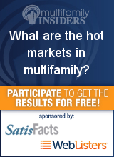 What are the hot markets in multifamily?