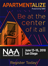 2018 Apartmentalize (formerly the NAA Education Conference & Exposition)
