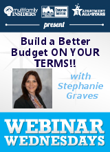 Build a Better Budget ON YOUR TERMS!!