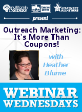 Outreach Marketing: It's More Than Coupons!