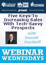 The Five Keys To Increasing Sales With Tech-Savvy Prospects
