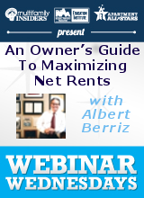 An Owner's Guide To Maximizing Net Rents