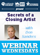 Secrets of a Closing Artist