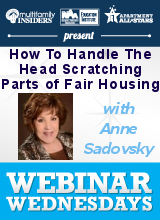 How To Handle The Head Scratching Parts of Fair Housing