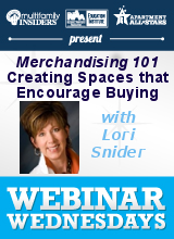 Merchandising 101 – Creating Spaces that Encourage Buying