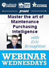 Unclog your profits! Master the art of Maintenance, Procurement and Purchasing Intelligence