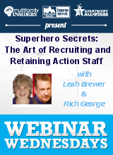 Superhero Secrets: The Art of Recruiting and Retaining Action Staff