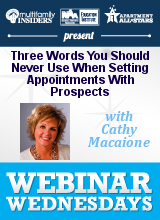 """Come In Anytime"" - Three Words You Should Never Use When Setting Appointments With Prospects"