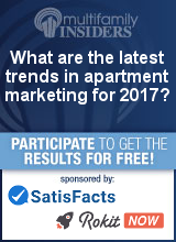 What are the latest trends in apartment marketing for 2017?