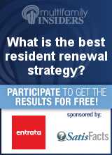 What is the best resident renewal strategy?