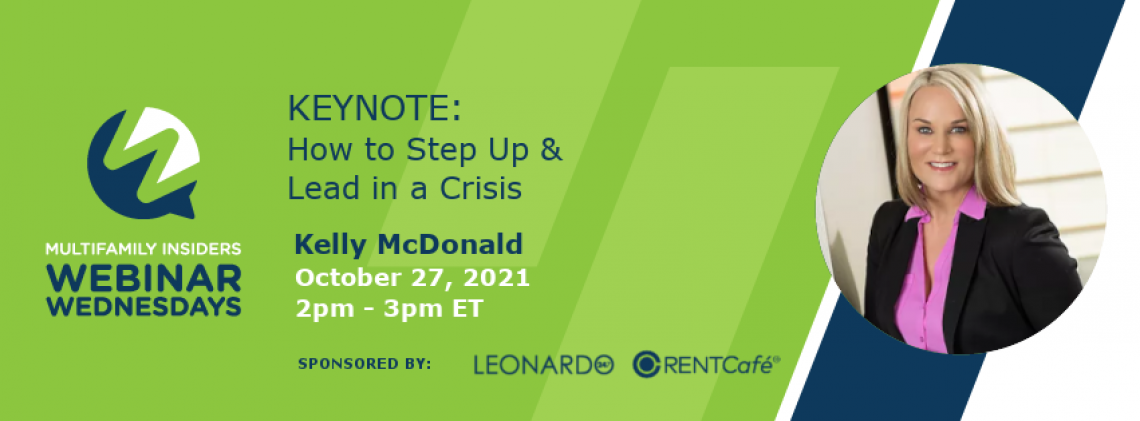 KEYNOTE: How to Step Up & Lead in a Crisis
