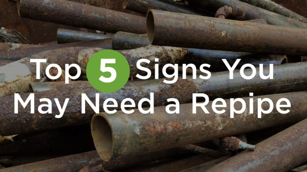 Top Five Signs You May Need A Repipe