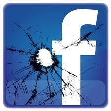 FB Logo with Bullet Hole