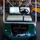 Some of the reconditioned golf carts for Multi-Family Properties