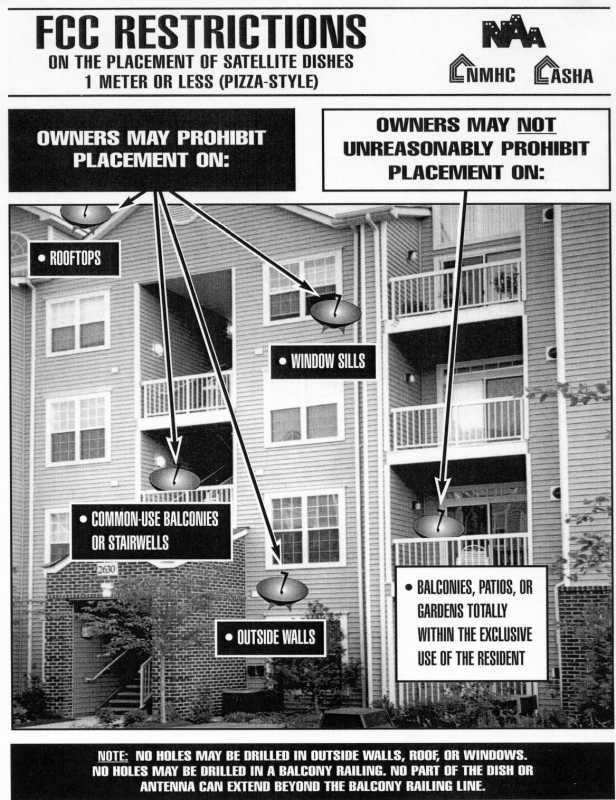 Satellite Dish Installation Instruction Apartment Ideas