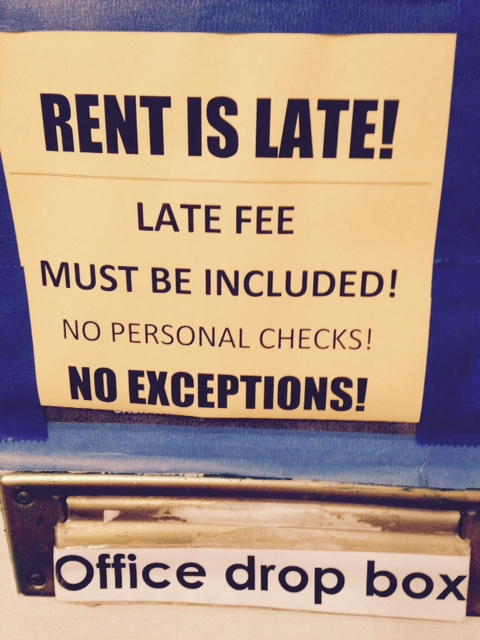 Letter Encouraging Timely Rent Payments     Apartment Ideas
